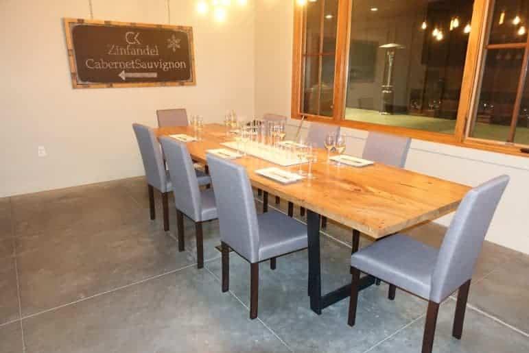 Comstock Wines Blending Room - Image Carmen Edelson