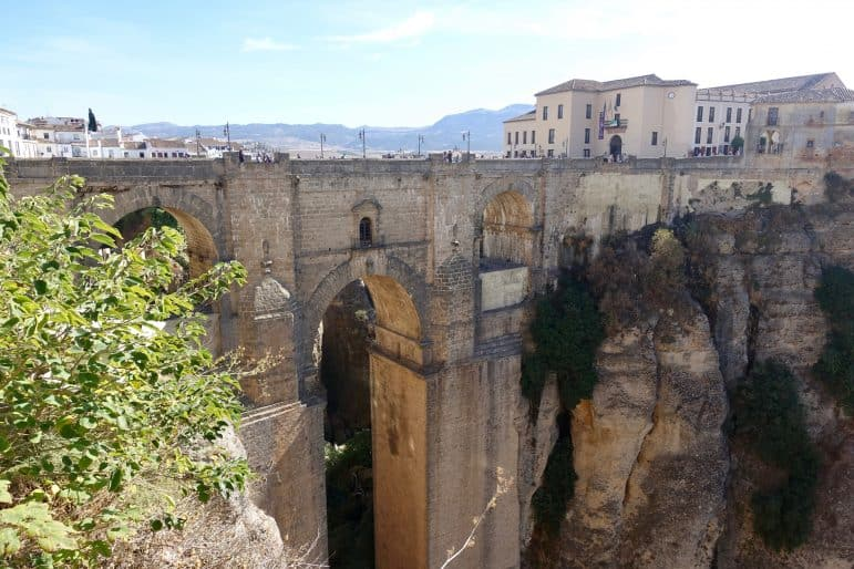 The Old Bridge in Ronda Spain photo by Carmen's Luxury Travel