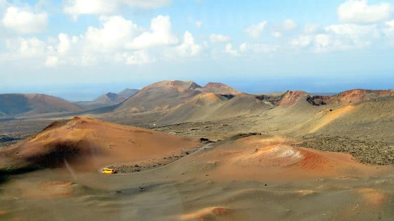 National Park of Timanfaya Lanzarote