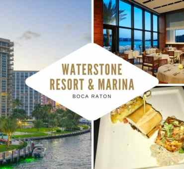 Waterstone Resort & Marina, Boca Raton - Unveils New Menu Items