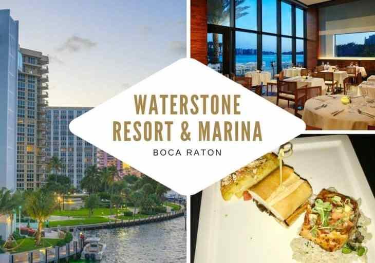 Waterstone Resort & Marina, Boca Raton – Unveils New Menu Items