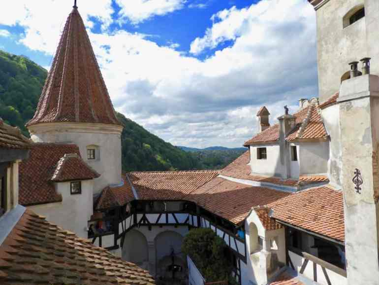 Bran's Castle (Dracula's Castle) in the town of Brașov, Transylvania photo Carmen's Luxury Travel