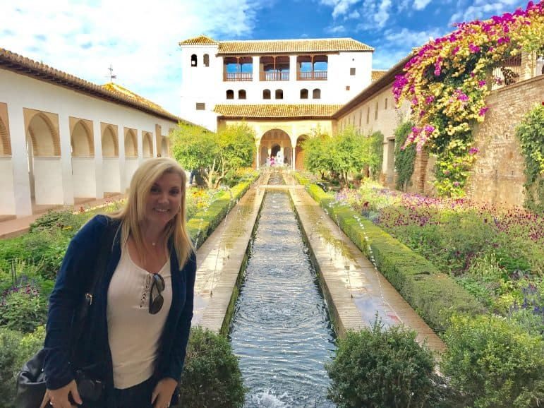 Generalife Gardens Alhambra, Granada photo by Carmen's Luxury Travel
