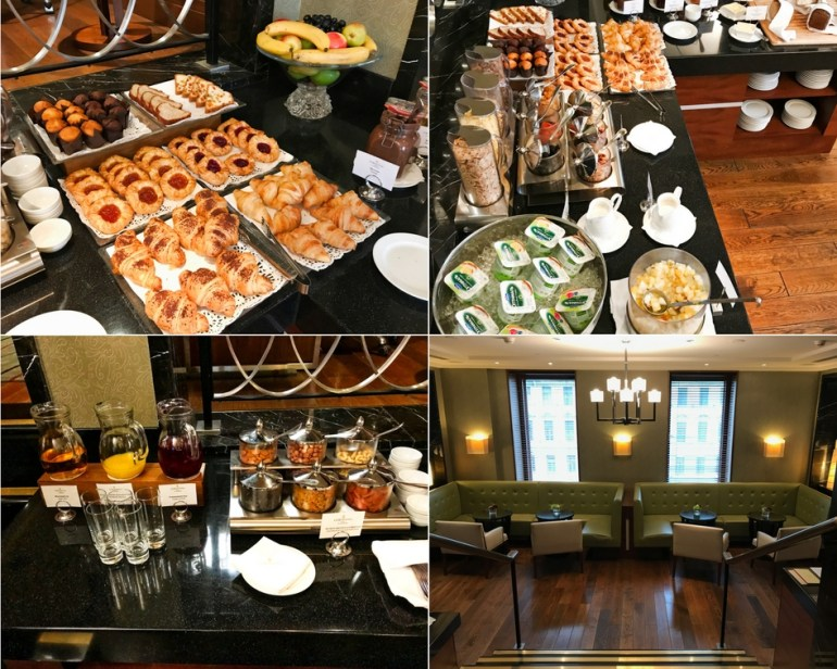 Executive Club Lounge Breakfast Selections - Corinthia Hotel St Petersburg