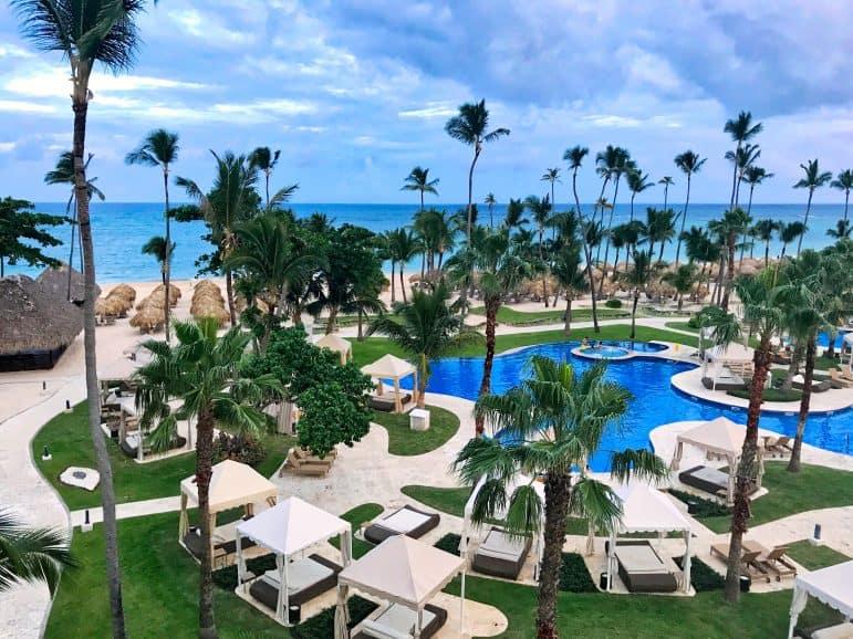 View of Beach and Pool Area at Iberostar Grand Hotel Bavaro Punta Cana