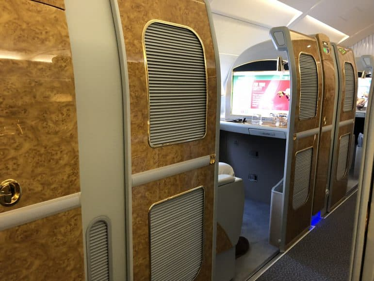 Emirates First Class Suite Doors A380