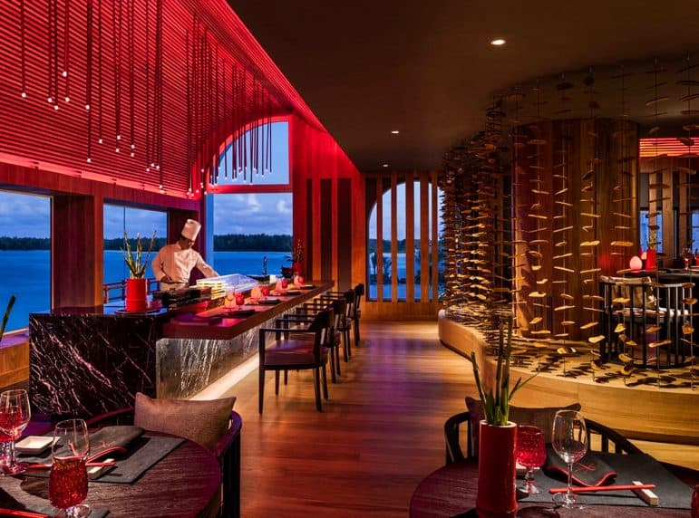 Kushi Restaurant Photo Shangri-La Le Touessrok Resort