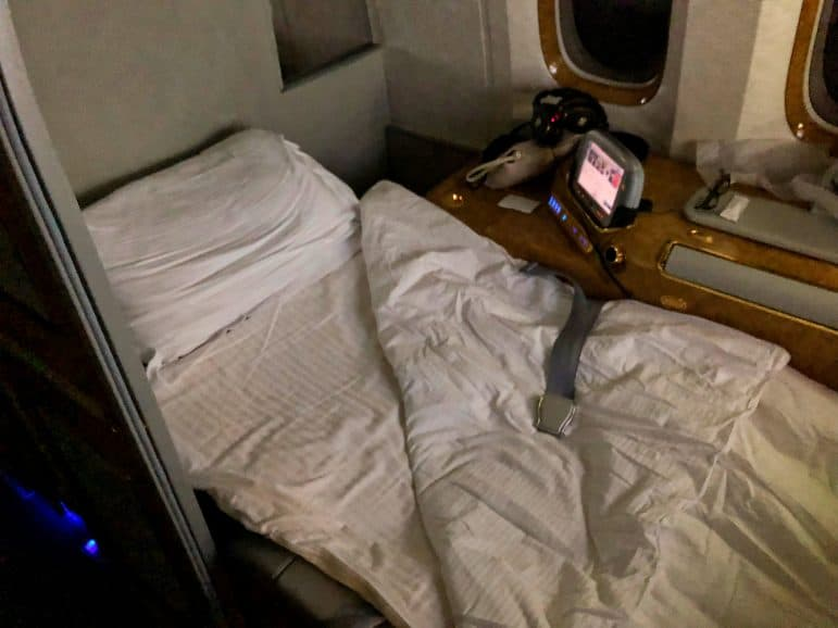 Emirates First Class Suite Bed