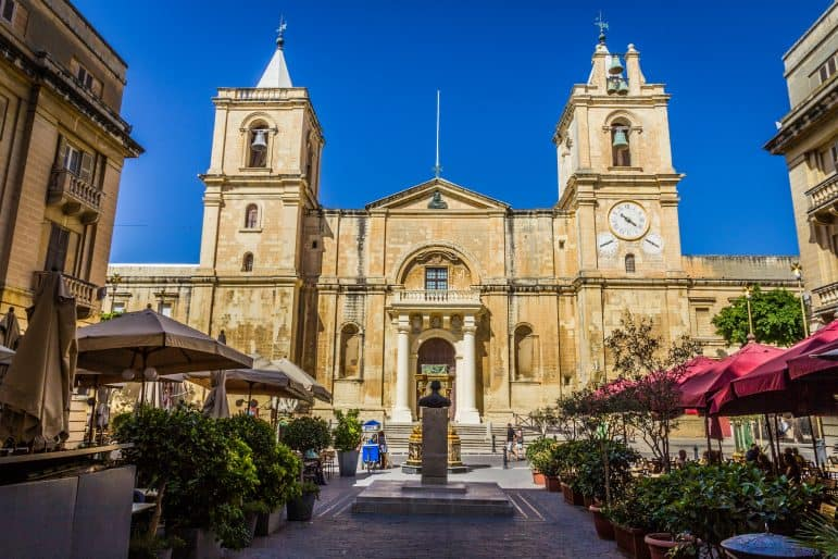 Saint John's Co-Cathedral in Valletta - Malta