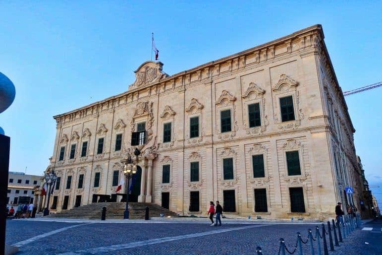 Valletta Parliament Building - Malta