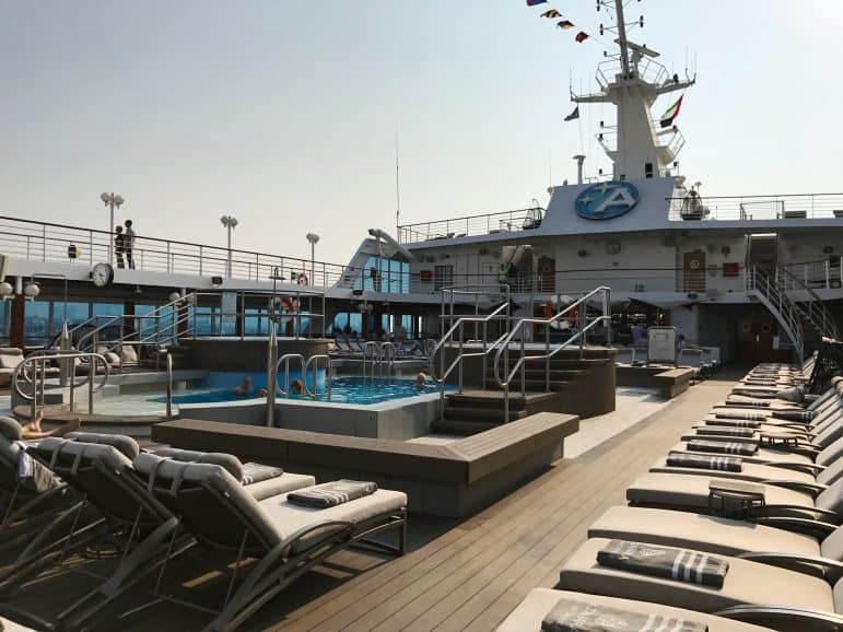 Pool Area - Azamara Journey