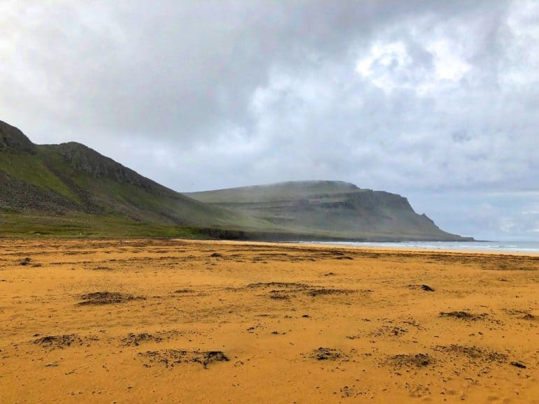 "Rauðasandur or ""Red Sand"" beach"