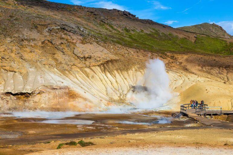 Krysuvik Geothermal Area, Iceland