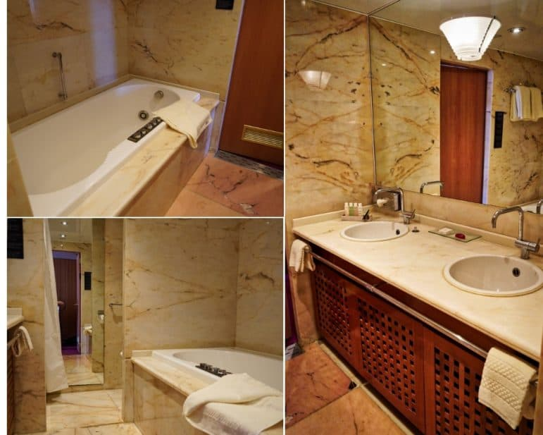 Grand Terrace Suite Bathroom - Grand Classica