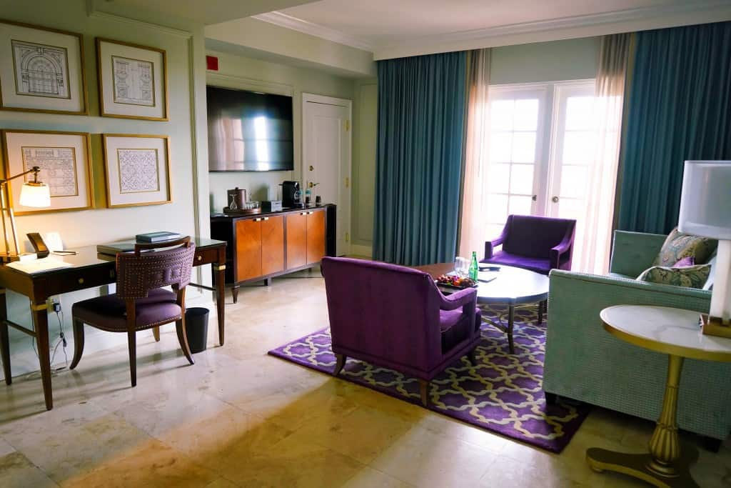 Tower Suite Living Area - The Biltmore Hotel & Resort Coral Gables