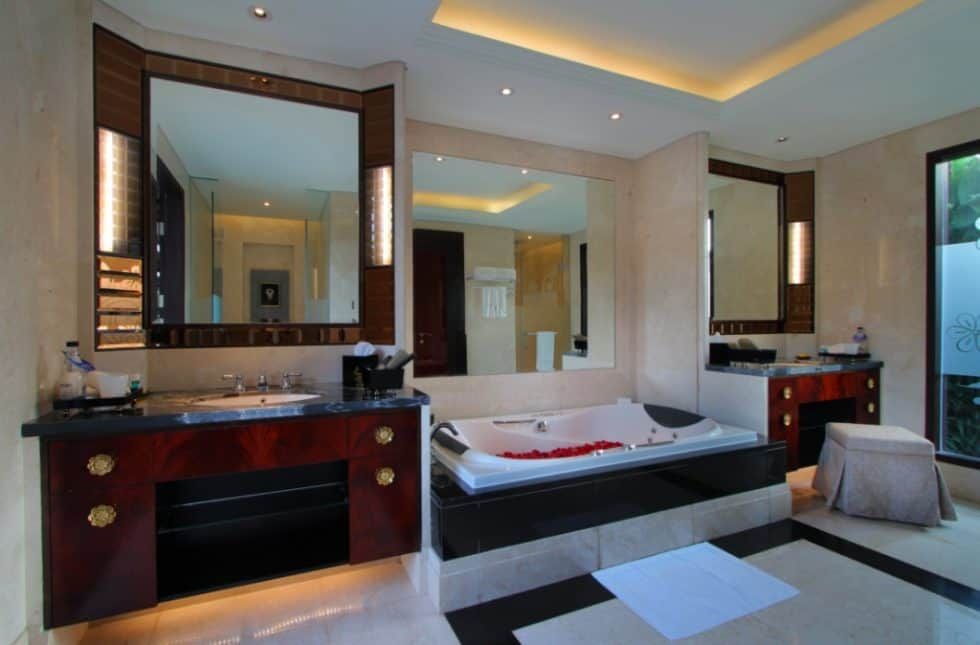 One Bedroom Villa Bathroom - The Trans Resort Bali