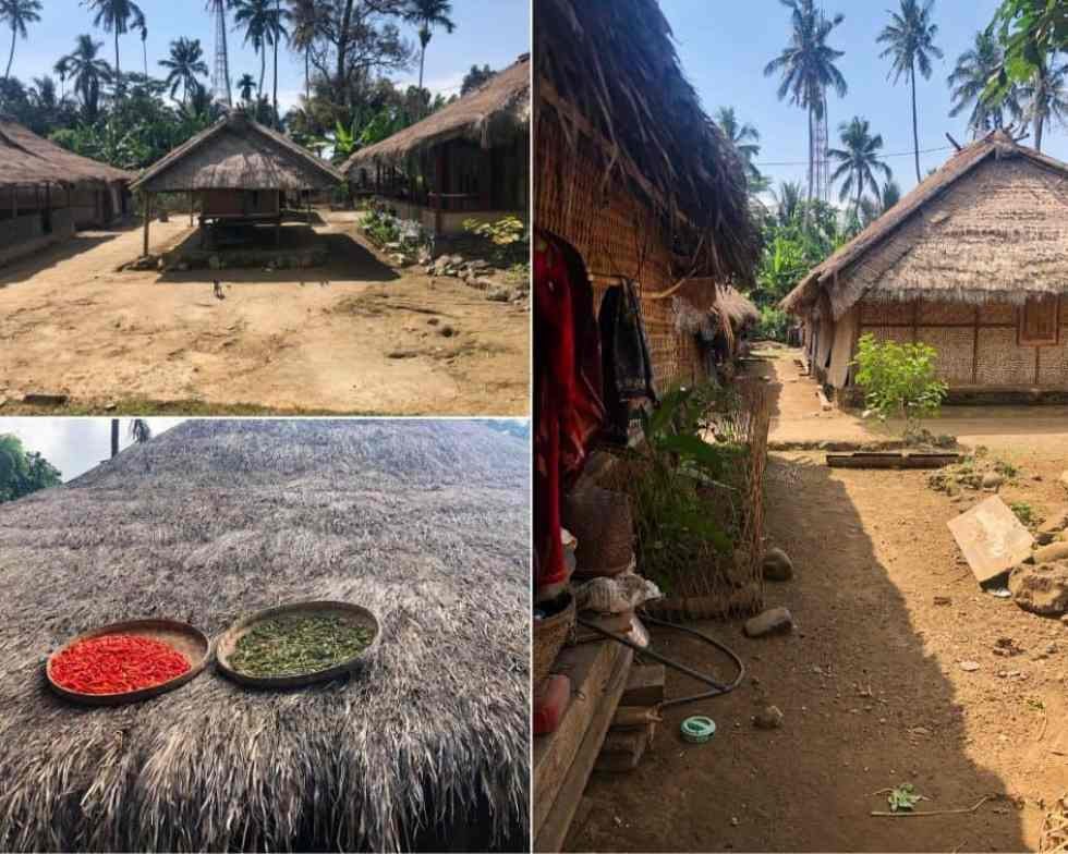 Traditional Sasak Village in Lombok Island