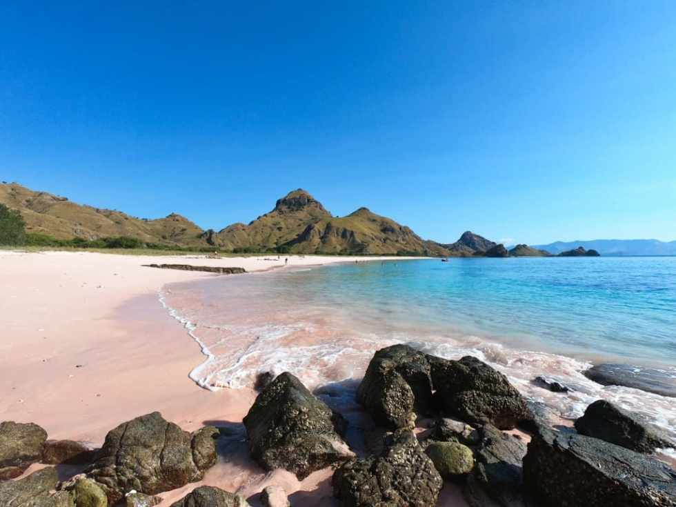 Padar Island Pink Beach, Indonesia