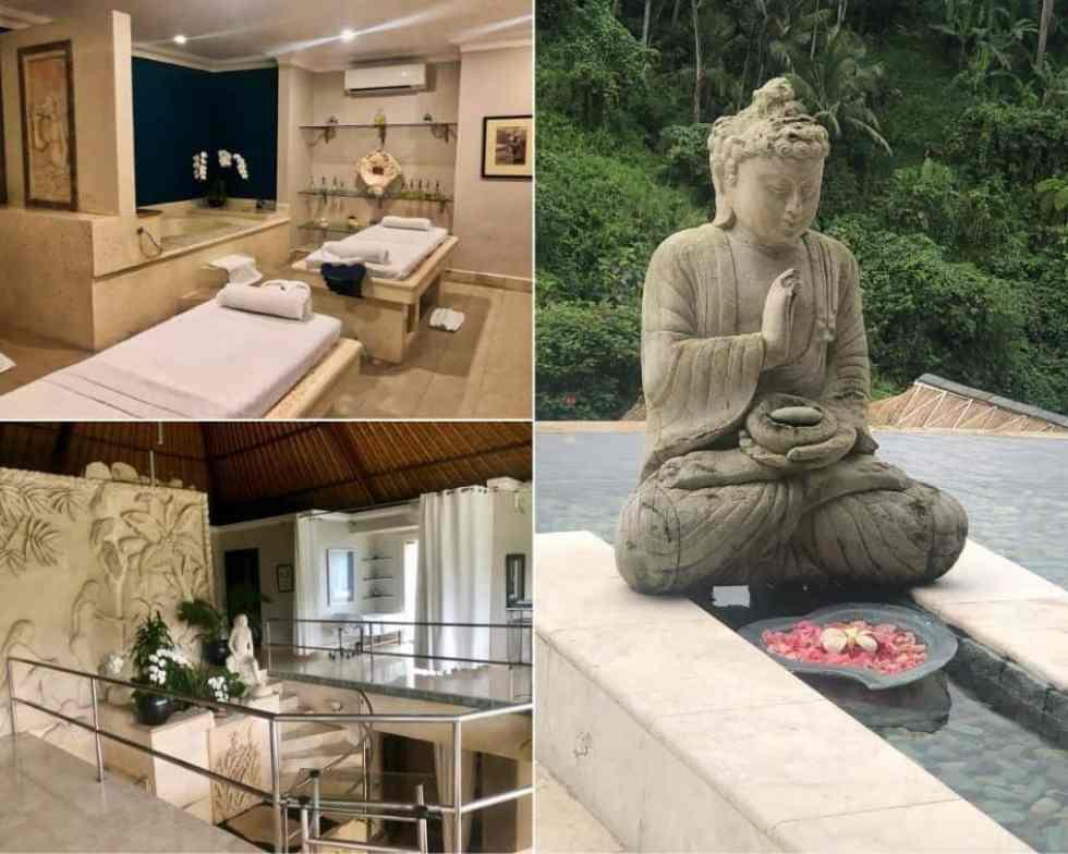 Treatment Rooms at The Lembah Bali Spa Viceroy Bali