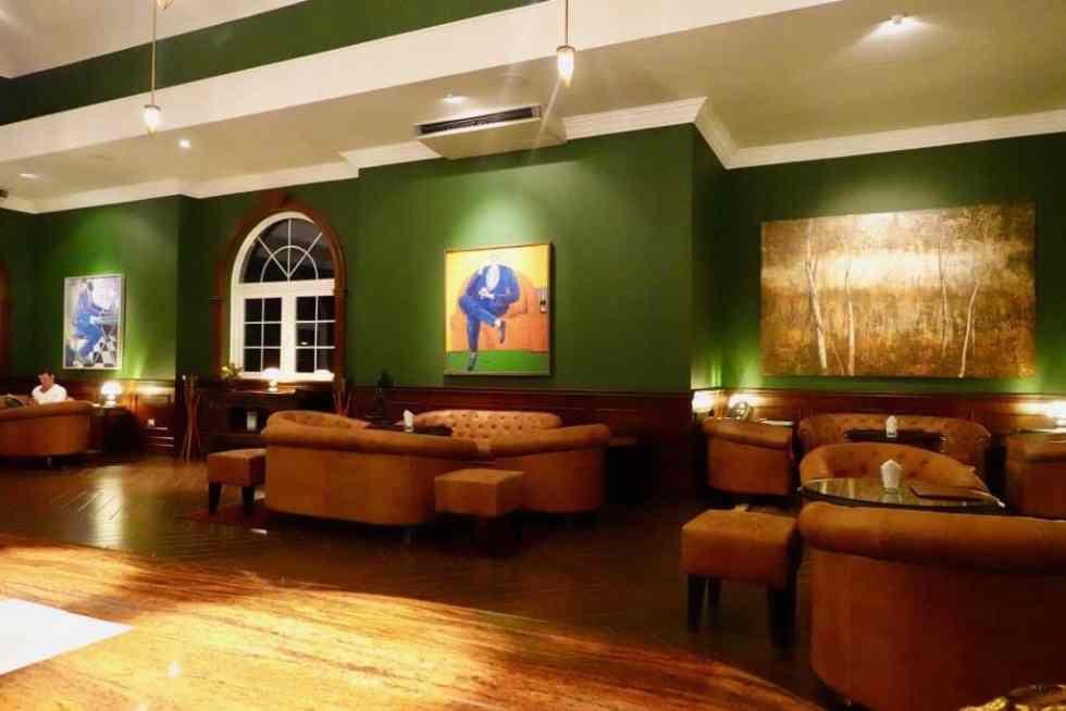 Aperitif Bar Seating Area - Aperitif Restaurant & Bar, Ubud