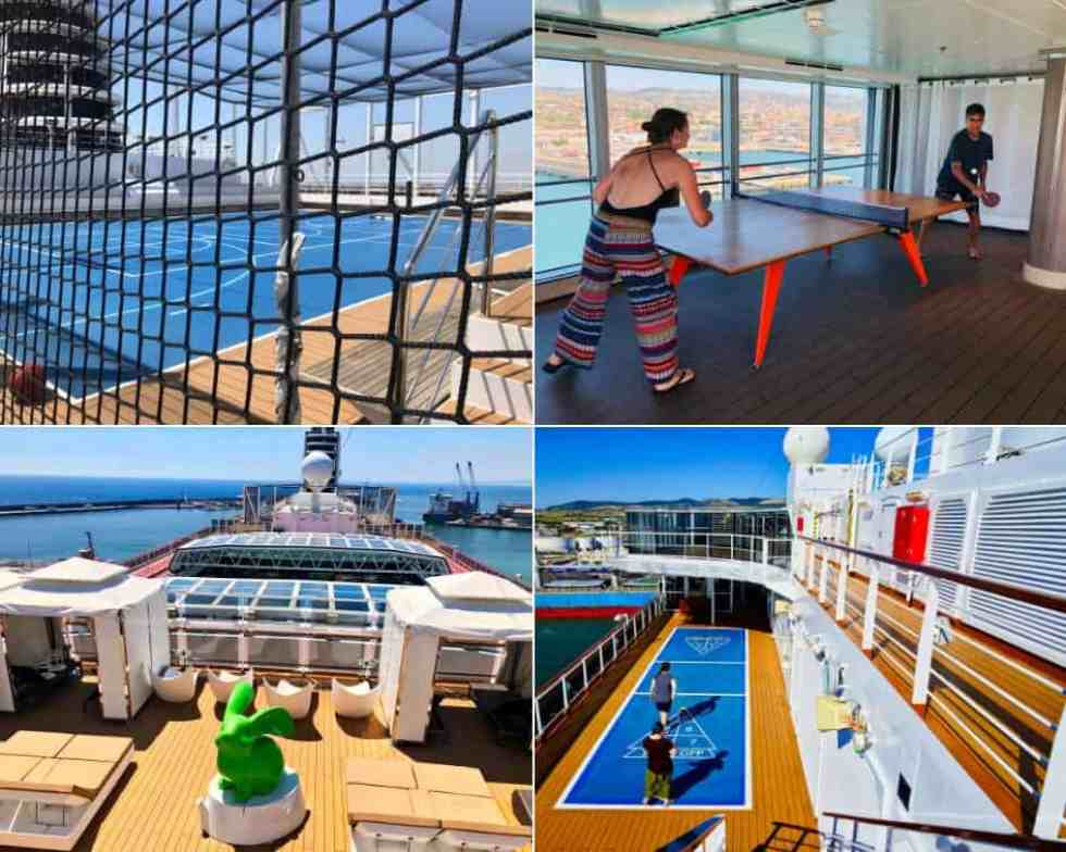 Activities onboard Holland America MS Koningsdam