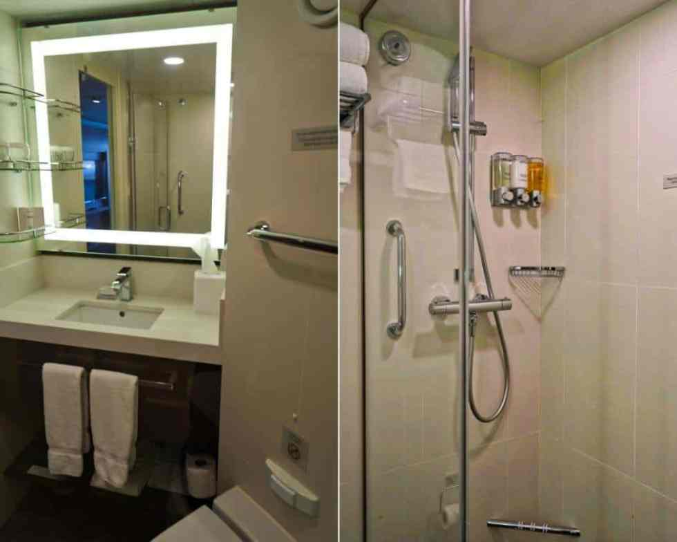 Holland America Verandah Suite Bathroom - MS Koningsdam
