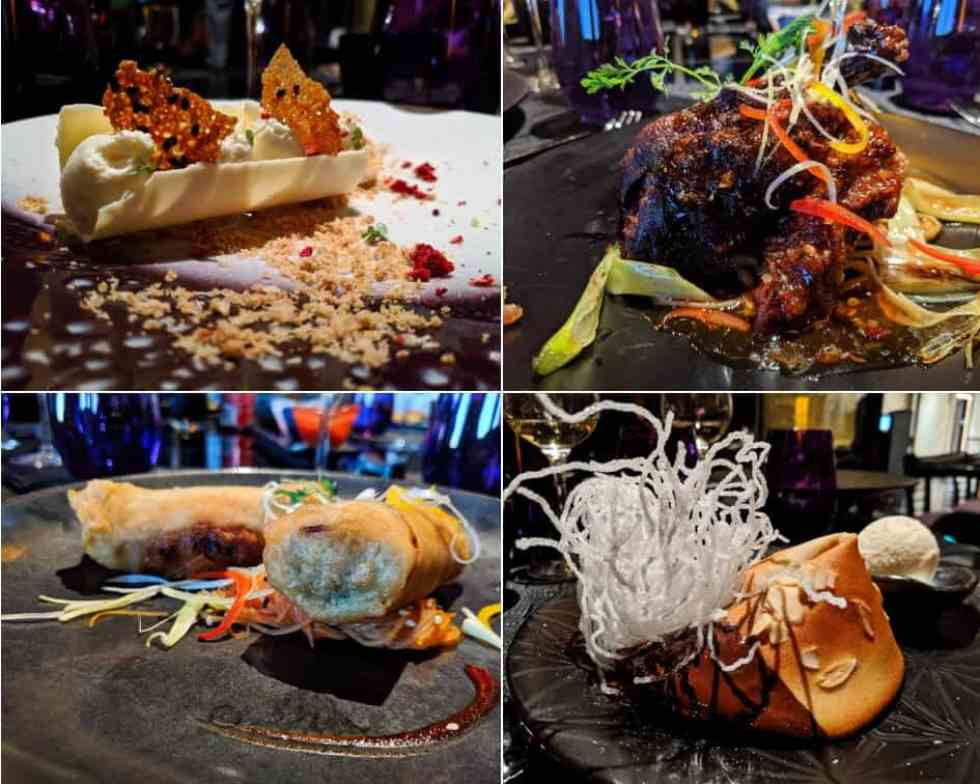 Tamarind Restaurant Selections - Holland America MS Koningsdam
