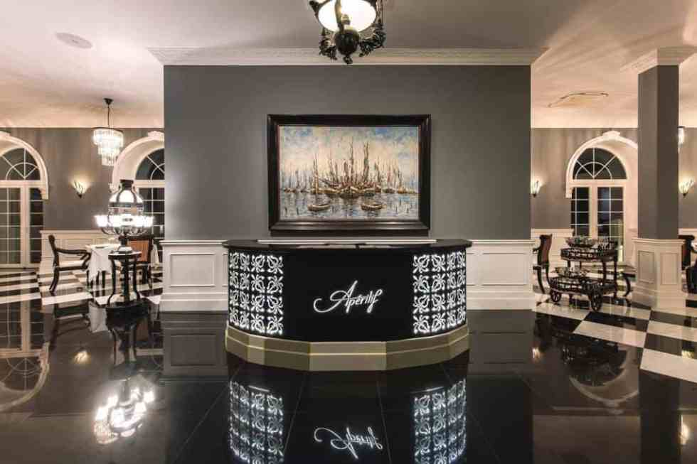 Aperitif Restaurant & Bar - Reception Area