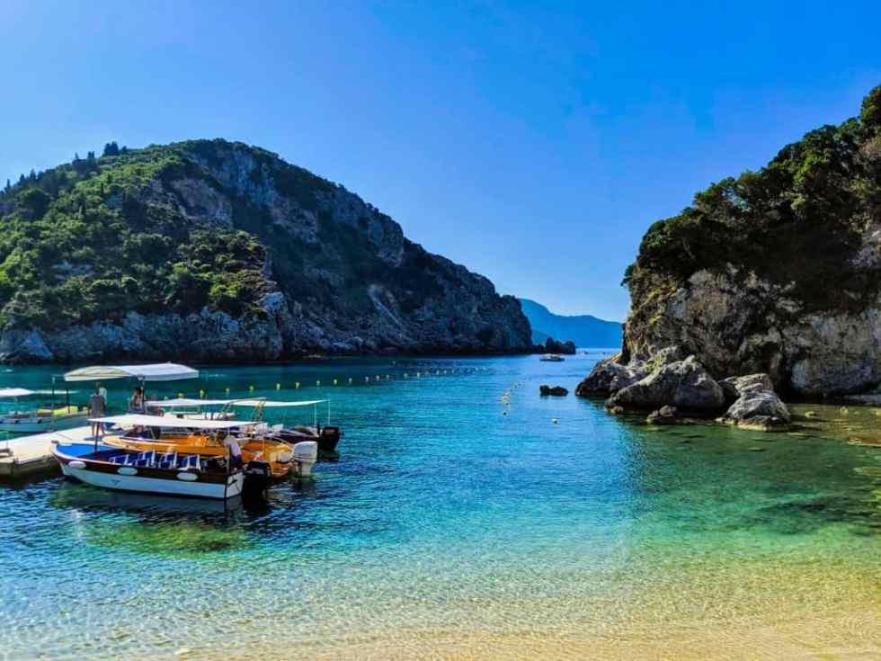 Palaiokastritsa Beach, Corfu, Greece
