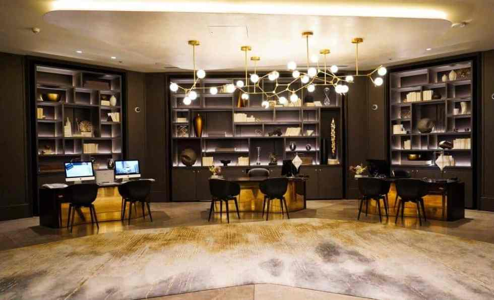 Concierge Desk - JW Marriott Parq Vancouver