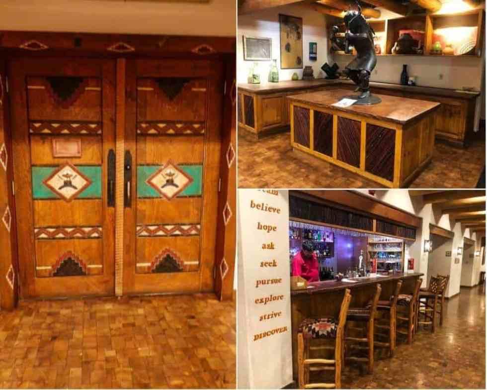 Hotel Santa Fe Reception Area