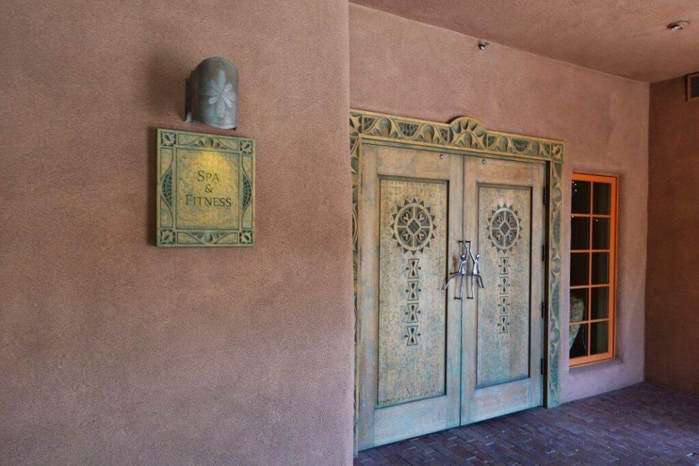 The Spa Entrance at Hotel Santa Fe: The Hacienda & Spa