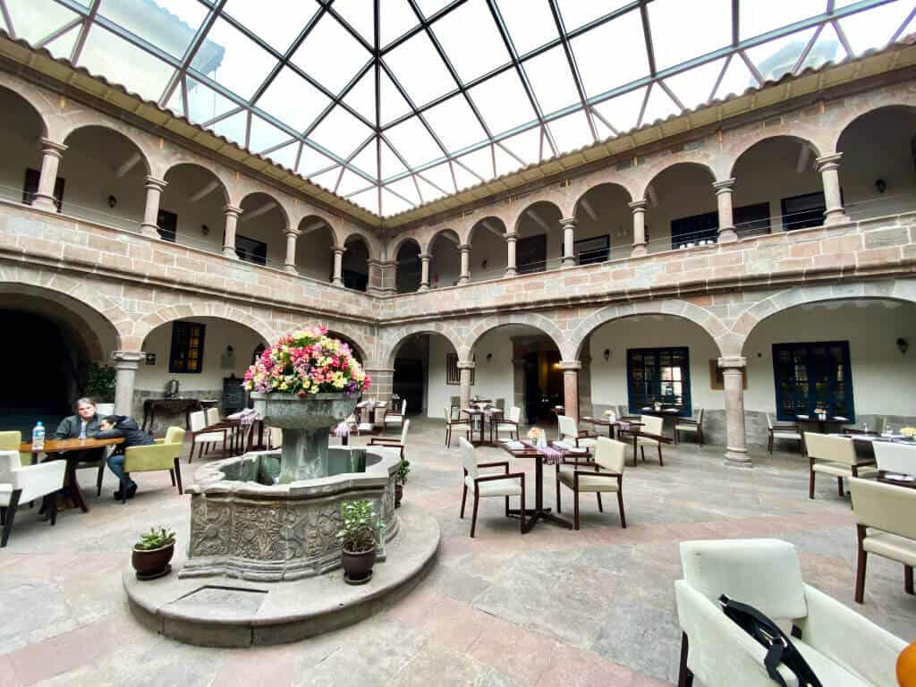 Novotel Cusco Hotel Interior Courtyard