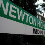 Newton Highlands T Station