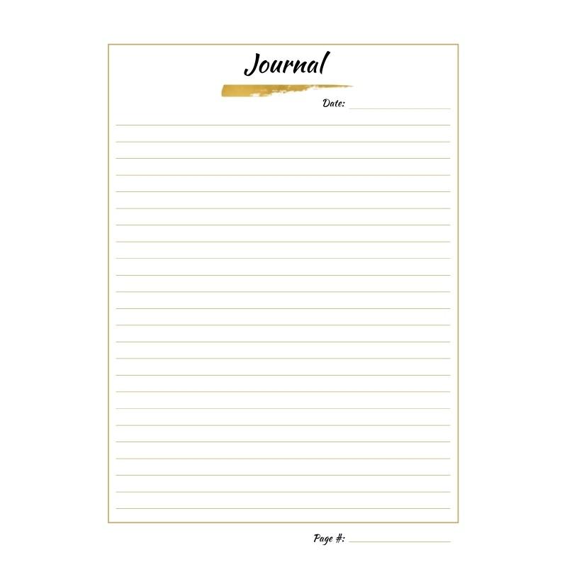 14 Days of Healing Kit - Journal Page