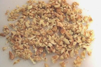 croquetas de gorgonzola, nueces y manzana