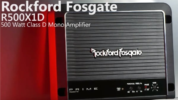 Rockford Fosgate r500x1d Amplifier Review