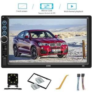 HSheng TPK Double Din Touchscreen Car Stereo