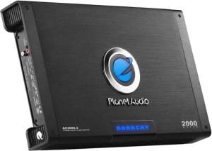 Planet Audio AC2000.2 2 Channel Car Amplifier