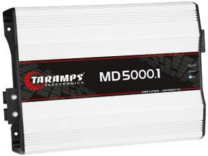 Taramps MD 5000.1 1 Ohm 5000 Watts Class D Full Range Mono Amplifier