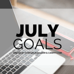 July 2016 Goals Recap