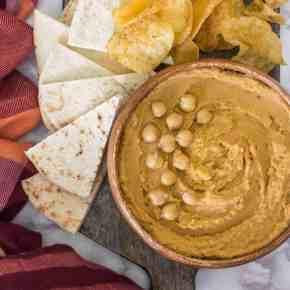 Taco Hummus (Tahini Free)