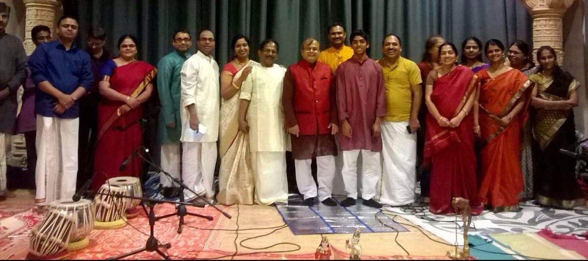 Bhajans/Krithis Birmingham Balaji Temple 21st Oct 2017