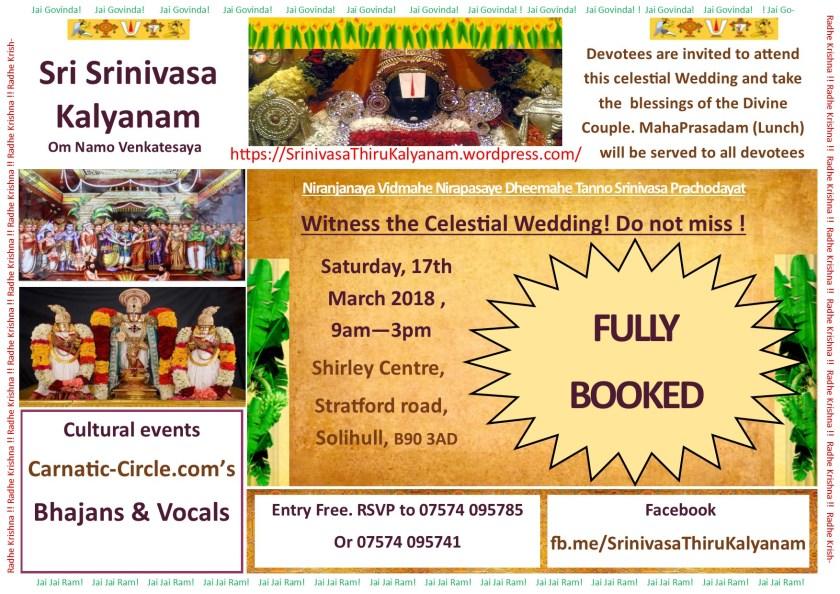 Perumal Kalyanam simpler Booked.jpg