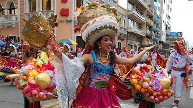 carnaval no equador