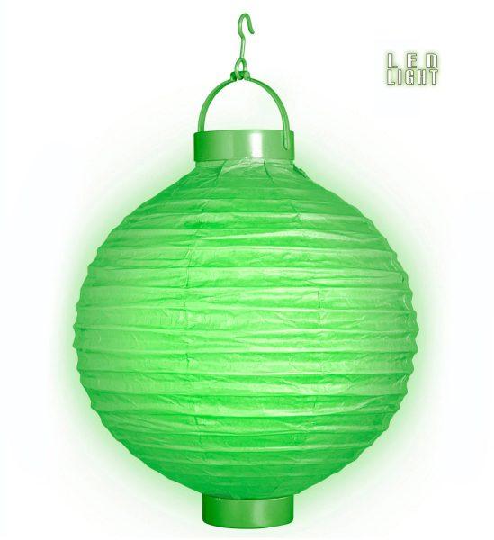 Lampion Luminos Verde