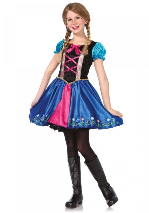 Costum Frozen Anna
