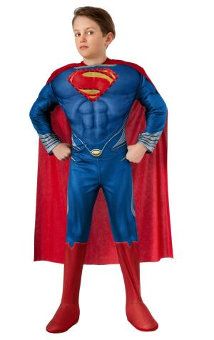 Costum Superman Man Of Steel