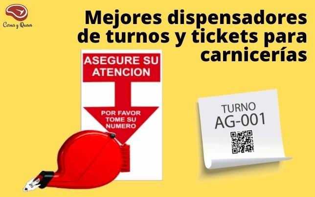 Dispensador turnos y ticket