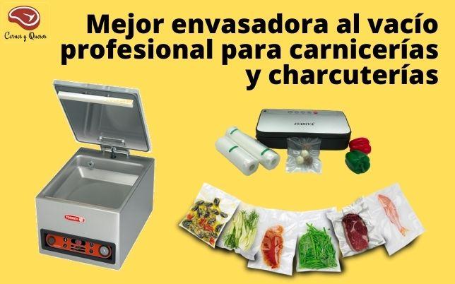 Mejor envasadora al vacío profesional para carnicerías y charcuterías